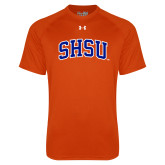 Under Armour Orange Tech Tee-Arched SHSU