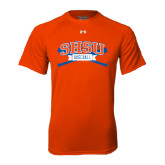 Under Armour Orange Tech Tee-Baseball Bats
