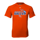 Under Armour Orange Tech Tee-Soccer Swoosh