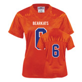 Ladies Orange Replica Football Jersey-#6
