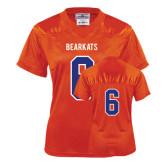 Ladies Orange Replica Football Jersey-#6