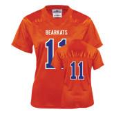 Ladies Orange Replica Football Jersey-#11