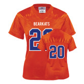 Ladies Orange Replica Football Jersey-#20