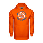 Under Armour Orange Performance Sweats Team Hood-Volleyball Stars Design
