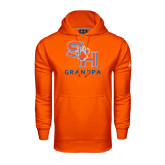 Under Armour Orange Performance Sweats Team Hood-Grandpa