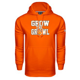 Under Armour Orange Performance Sweats Team Hood-Grow the Growl