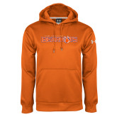 Under Armour Orange Performance Sweats Team Hoodie-Sam Houston Bearkats