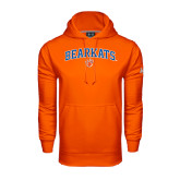 Under Armour Orange Performance Sweats Team Hood-Arched Bearkats w/Paw