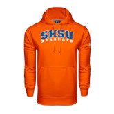 Under Armour Orange Performance Sweats Team Hood-Arched SHSU Bearkats