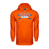 Under Armour Orange Performance Sweats Team Hood-Baseball Bats