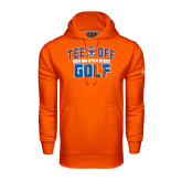 Under Armour Orange Performance Sweats Team Hood-Golf Tee Off