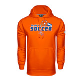 Under Armour Orange Performance Sweats Team Hood-Soccer Swoosh