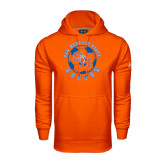 Under Armour Orange Performance Sweats Team Hood-Soccer Circle