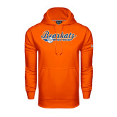 Under Armour Orange Performance Sweats Team Hood-Softball Lady Design
