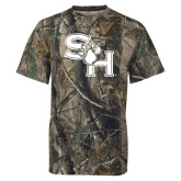 Realtree Camo T Shirt-SH Paw Official Logo