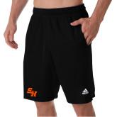 Adidas Black Clima Tech Pocket Short-Primary Athletics Mark
