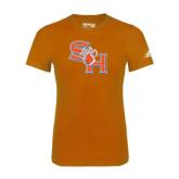 Adidas Orange Logo T Shirt-SH Paw Official Logo
