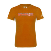 Adidas Orange Logo T Shirt-Sam Houston Bearkats