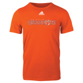 Adidas Orange Logo T Shirt-Sam Houston Bearkats