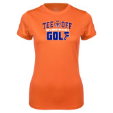 Ladies Syntrel Performance Orange Tee-Golf Tee Off