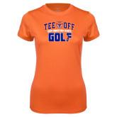 Ladies Syntrel Performance Orange Tee-Golf Tee Off
