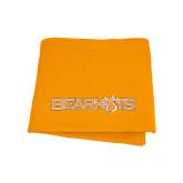 Orange Sweatshirt Blanket-Bearkats