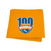 Orange Sweatshirt Blanket-100th Football Season