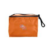 Six Pack Orange Cooler-SH Paw Official Logo