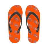 Ladies Full Color Flip Flops-SH Paw Official Logo