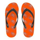 Full Color Flip Flops-SH Paw Official Logo