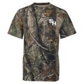 Realtree Camo T Shirt-SH Paw Official Logo