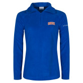 Columbia Ladies Half Zip Royal Fleece Jacket-Arched SHSU