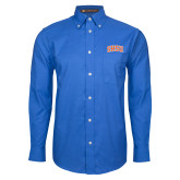 Mens Royal Oxford Long Sleeve Shirt-Arched SHSU