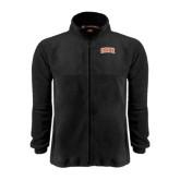 Fleece Full Zip Black Jacket-Arched SHSU
