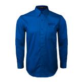Royal Twill Button Down Long Sleeve-Arched SHSU