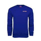 Royal Fleece Crew-Bearkats
