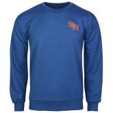 Royal Fleece Crew-SH Paw Official Logo