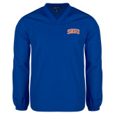 V Neck Royal Raglan Windshirt-Arched SHSU