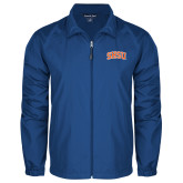 Full Zip Royal Wind Jacket-Arched SHSU