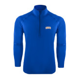 Sport Wick Stretch Royal 1/2 Zip Pullover-Arched SHSU