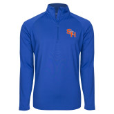 Sport Wick Stretch Royal 1/2 Zip Pullover-SH Paw Official Logo