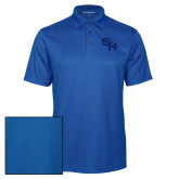 Royal Performance Fine Jacquard Polo-SH Paw Official Logo