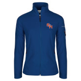 Columbia Ladies Full Zip Royal Fleece Jacket-SH Paw Official Logo