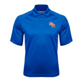Royal Textured Saddle Shoulder Polo-SH Paw Official Logo