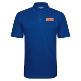 Royal Textured Saddle Shoulder Polo-Arched SHSU