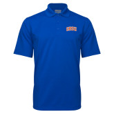 Royal Mini Stripe Polo-Arched SHSU