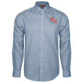 Red House Light Blue Plaid Long Sleeve Shirt-SH Paw Official Logo
