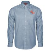 Red House Light Blue Plaid Long Sleeve Shirt-SH Paw Official Logo