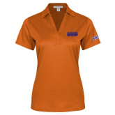 Ladies Orange Performance Fine Jacquard Polo-2017 Southland Conference Baseball Champions