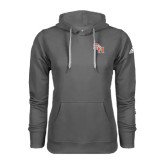 Adidas Climawarm Charcoal Team Issue Hoodie-SH Paw Official Logo